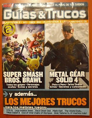 Guides Full Super Smash Bros.Brawl (Wii), Metal Gear Solid 4 (Ps3) Spanish