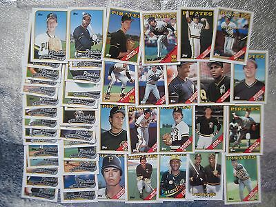 PIRATES 18 OLD TEAM SETS CARDS COLLECTION 1987 - 1993 LOT Barry Bonds OPC Rookie