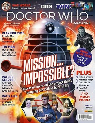 Doctor Who Magazine May 2019 (Issue 537) New...fast Post