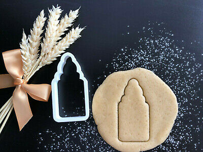 Baby Bottle Cookie Cutter 01 | Play dough | Fondant Cake Decorating | UK Seller