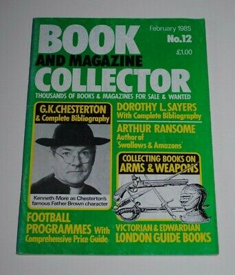 Book Collector # 12 Feb 1985 - Dorothy L.Sayers,Ransome, Football Programmes