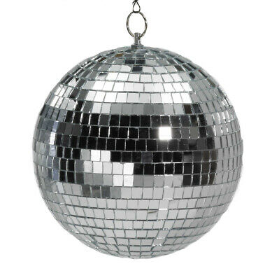 10 Inch Hanging  Disco Mirror Ball - Party Supplies 72108 -  fnt