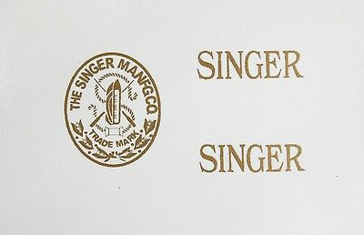 Singer Model 20 Toy Sewing Machine Restoration Waterslide Decals