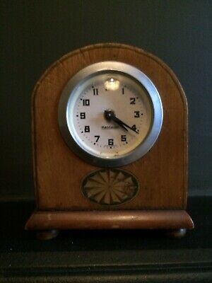 Vintage Small Mercedes German Mantel Clock