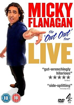 MICKY FLANAGAN DVD Live Out Out Tour NEW SEALED