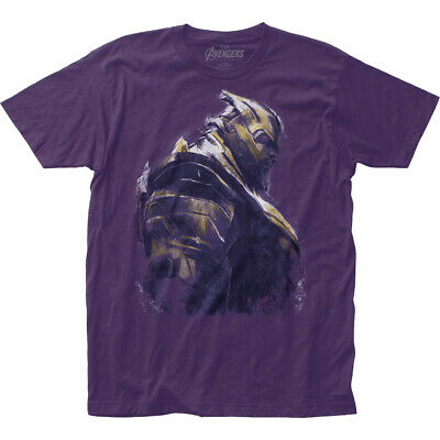 Avengers End Game Movie Thanos Marvel Officially Licensed Adult T-Shirt