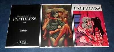 FAITHLESS #1 ABC variant set TULA LOTAY EROTICA BERMEJO AZZARELLO BOOM PAUL POPE