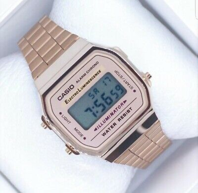 NEW Casio Rose Gold Vintage Watch