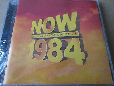 Now That's What I Call Music 1984  [2 CDS] NEW AND SEALED