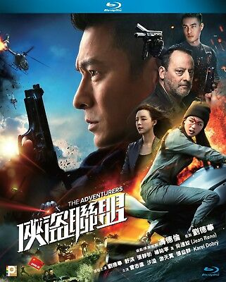 "Andy Lau ""The Adventurers"" Shu Qi Jean Reno 2017 Hong Kong Action Blu-Ray"