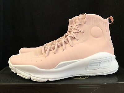 1dca88a4846a4 UNDER ARMOUR CURRY 4 DIMES FLUSH PINK VALENTINES CHAMP PACK Sz 12 DS ...