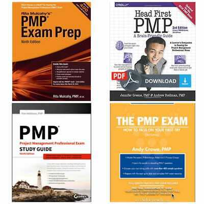 PMP Exam Prep 9 Edition + Head First PMP + PMP Study Guide + The PMP Exam [EB00K