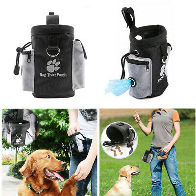 Pets Dog Puppy Obedience Training Treat Bag Feed Bait Food Snack Pouch Belt New*