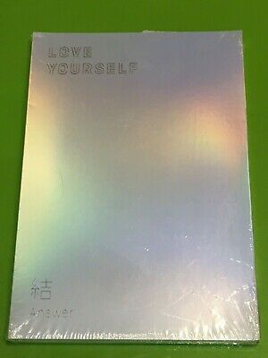 BTS 4th Album [LOVE YOURSELF 結'Answer] S Ver. CD+P.Book+M.Book+Photocard+Sticker