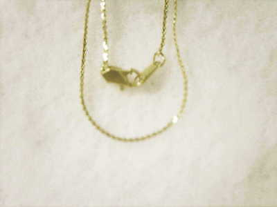 bling gold plated FASHION JEWELRY 1mm 20in serpentine hip hop chain necklace GP