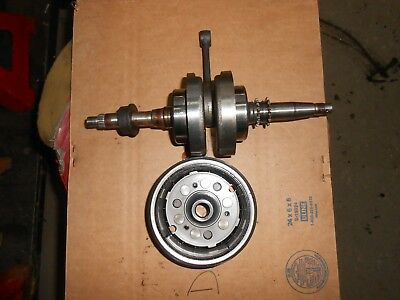 1984 Honda CH125 CH 125 Elite Crankshaft crank flywheel