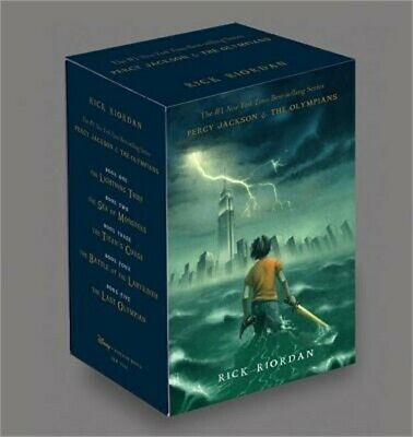 Percy Jackson & the Olympians Boxed Set (Hardback or Cased Book)