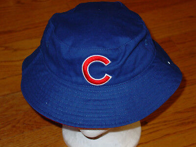 360ce348809 New Adult Chicago Cubs Baseball Floppy Bucket Hat Cap Fisher Blue Mens  Womens