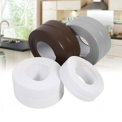 Bathroom Kitchen PVC Wall Stickers Art Sealing Strip Tape Resistant Waterproof