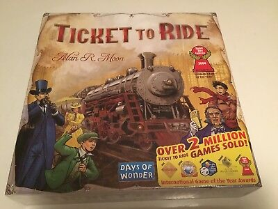 Ticket to Ride  Board Game - USA. By Days of Wonder. Factory Sealed.