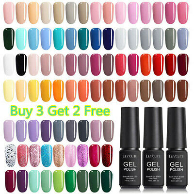 146Colors 7ml Soak Off UV Gel Nail Polish Summer Theme Nail Gel Varnish LILYCUTE