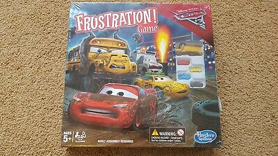 Frustration Disney Cars 3 Edition Board Game by Hasbro NEW SEALED