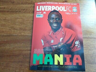 LIVERPOOL FC - Magazine - May 2019 - issue 81 - Mane cover