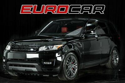 2017 Land Rover Range Rover Sport Supercharged Dynamic 2017 Land Rover Range Rover Sport Supercharged Dynamic, STUNNING RED INTERIOR