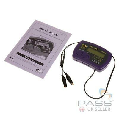 Peak Electronics Atlas ESR70 Capacitor Analyser - Portable, palm-sized / UK Stoc