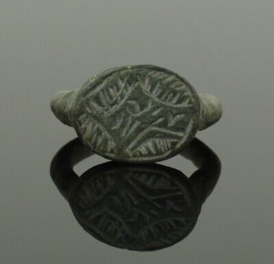 Ancient Roman Bronze Ring - Circa 2Nd Century Ad  034