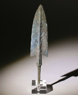 Museum Quality Luristan Bronze Age Arrowhead 1200-800Bc   0060