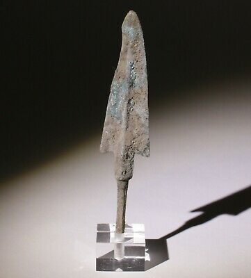 Museum Quality Luristan Bronze Age Arrowhead 1200-800Bc   0061