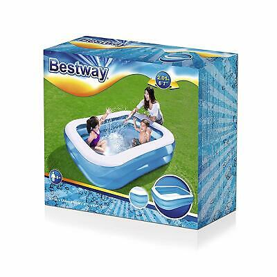 Bestway Large Inflatable Family Swimming Paddling Pool Kids Adults 6.5ft x 5ft