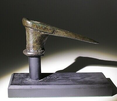 Ancient Luristan Bronze Age Axe Head  - Circa 2000-1500Bc 003