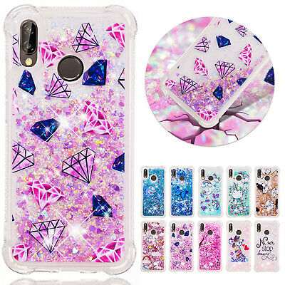 For Huawei P30 Pro P Smart 2019 Case Glitter Soft TPU Dynamic Shockproof Cover