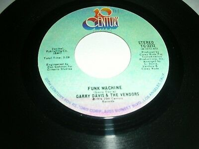 Garry Davis And The Vendors - Funk Machine / Your Special Baby