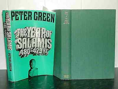 Battle of SALAMIS Greco PERSIAN WARS HB Peter Green Ancient GREECE v PERSIA Year