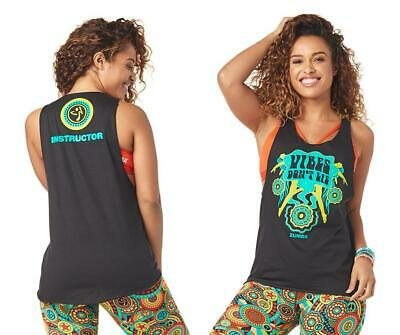 c96aacca5c ZUMBA DANCE OUTSIDE Instructor Loose Tank- Mell-oh-Yellow Z1T01716 ...