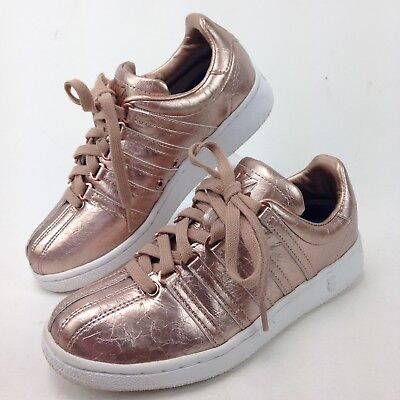 Details about NEW K Swiss Classic VN Aged Foil 93744 282 M Women''s Shoes Trainers Sneakers SA