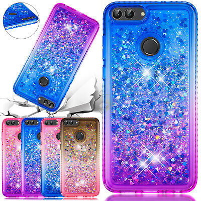 For Huawei P Smart 2019 Case 2018 Glitter Quicksand Soft TPU Shockproof Cover