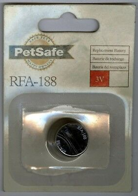 PetSafe RFA-188 Wireless Fence Receiver Collar 3 Volt Battery Replacement