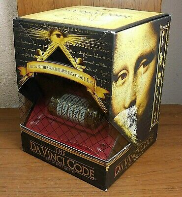 The Da Vinci Code Gift Set (DVD, 2-Disc, 2006) Special Edition w/ Cryptex Puzzle