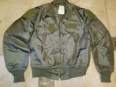 a8b070e7c VTG ALPHA INDUSTRIES Cwu 36/p Usaf M Men Military 80S Green Military Flyers