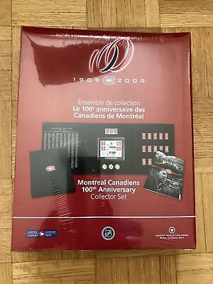 2009 Sealed Montreal Canadiens 100Th Anniversary Collector Set