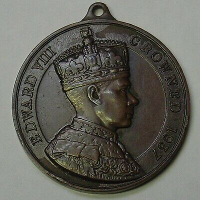 GB. Edward VIII Proposed Coronation medal in bronze.