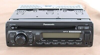 New PP104286 Panasonic MP3 CD Player / Weather Band Receiver