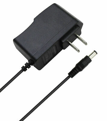 1A AC Converter Adapter DC 9V 800mA Power Supply Charger US 5.5mm x 2.5mm 5 ft
