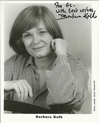 BARBARA KOLB - composer, GENUINE HAND SIGNED LETTER, PHOTO & MUSIC BOOK