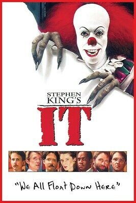 It Poster Movie Stephen King Original We All Float Down Here