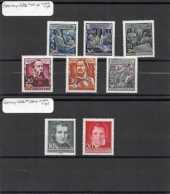 Lot of 32 Germany DDR MH Mint Hinged Stamps Scott Range 207 - 285 #141470 X R